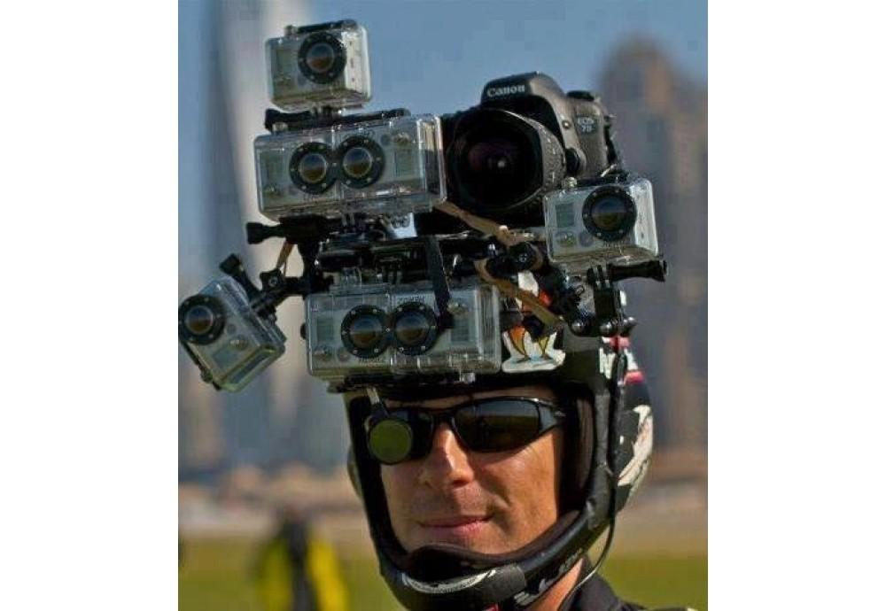 Як і де прикріпити камеру на шолом?
