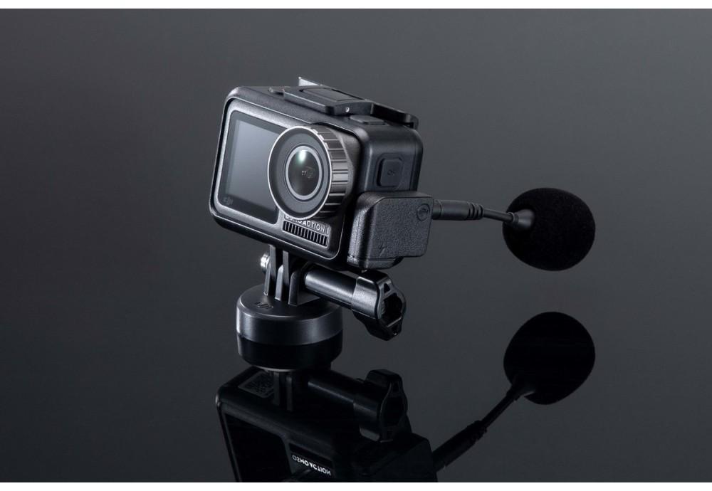 Как подключить микрофон к DJI Osmo Action