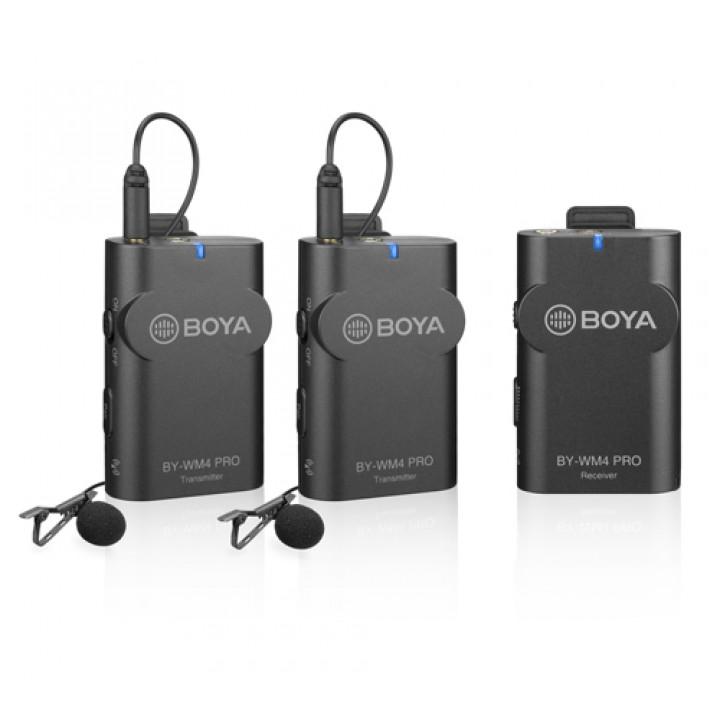Цифровой беспроводной микрофон BOYA BY-WM4 Pro K2