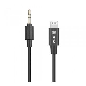 Адаптер бездротових мікрофонів 3.5 мм TRS Lightning Boya BY-K1