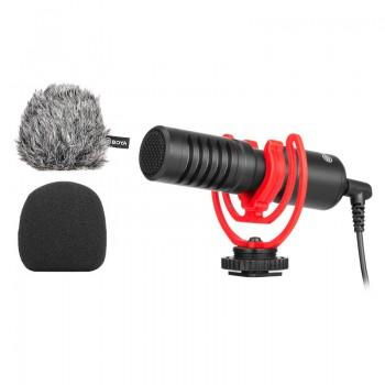 Мікрофон для телефону та камери Boya BY-MM1+