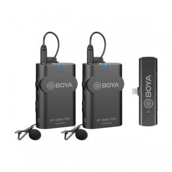 Мікрофонна система бездротова Lightning BOYA BY-WM4 PRO-K4