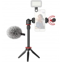 Набор блогера микрофон BY-MM1+ штатив BOYA BY-VG330