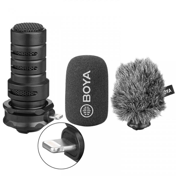Уценка микрофон Boya BY-DM200 для iOS устройств