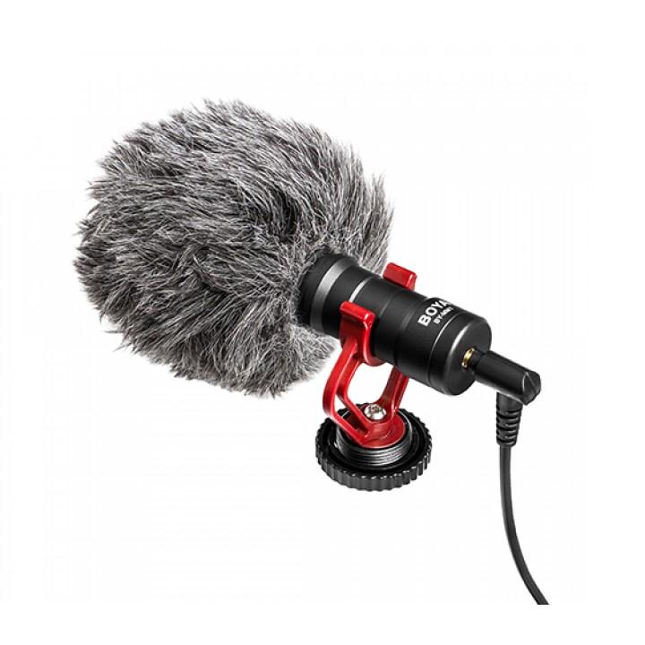 BOYA BY-MM1 микрофон для телефона Dslr и Mirrorless камер