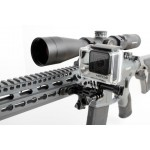 Кріплення для екшн-камери на зброю, вудку