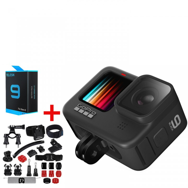 Экшн-камера GoPro HERO9 Black CHDHX-901-XX