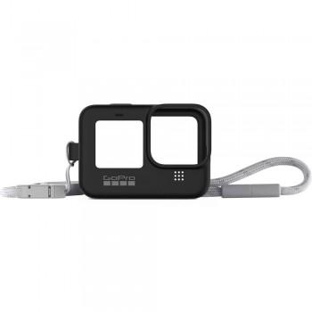 Чехол силиконовый черный GoPro Hero9 Black ADSST-001
