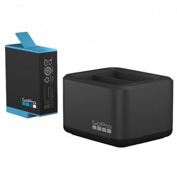 Зарядное устройство двойное и аккумулятор GoPro Hero9 Black ADDBD-001