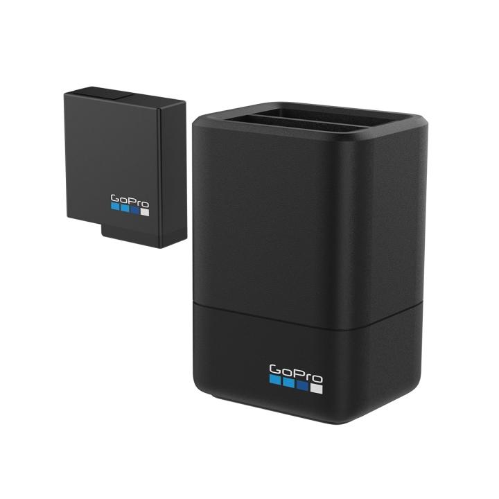 Уценка! Аккумулятор + зарядка оригинальные для GoPro Hero 7 / 6 / 5 (AADBD-001-RU)