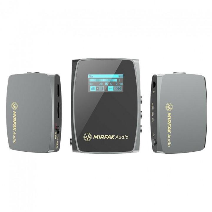 Беспроводной микрофон рекордер двойной MIRFAK WE10 Pro