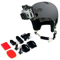 Крепление на шлем, комплект для GOPRO, SJCAM, XIAOMI