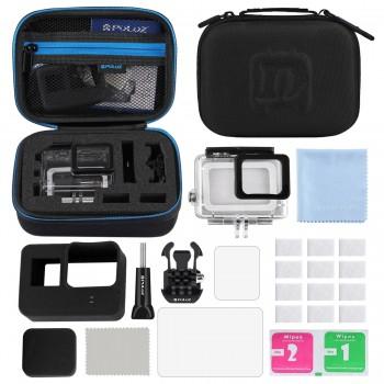 Набор креплений Puluz 12в1 для экшн-камер PKT37