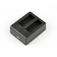 Зарядка двойная для аккумуляторов SJCAM SJ4000 SJ5000 / Eken H9R H9R Plus H8R Plus