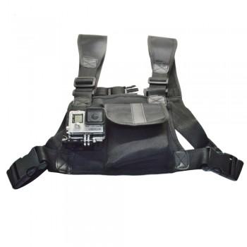 Кріплення на груди з кишенею для GoPro SJCAM XIAOMI SONY