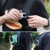 Универсальное крепление на кепку, рюкзак TELESIN для GOPRO SJCAM XIAOMI