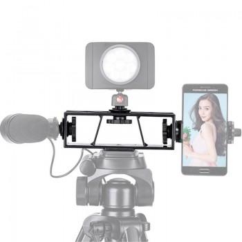 Тримач для смартфонів, світла, мікрофону Ascromy