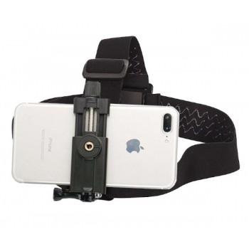 Крепление телефона на голову с усиленным держателем
