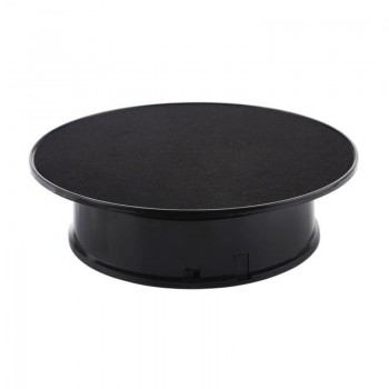 Предметний стіл поворотний 30см чорний для фото-відеозйомки Puluz TBD048631602B
