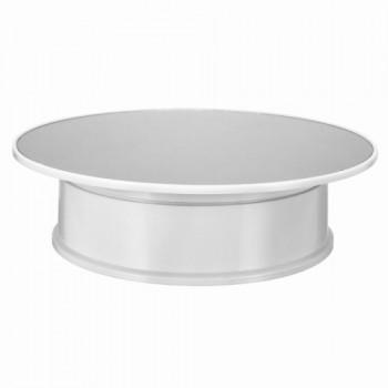 Предметный стол поворотный зеркальный 30см белый для фото-видеосъемки Puluz TBD048631604W