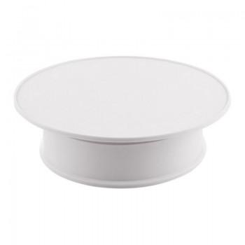 Предметний стіл поворотний 30см білий для фото-відеозйомки Puluz TBD048631603W