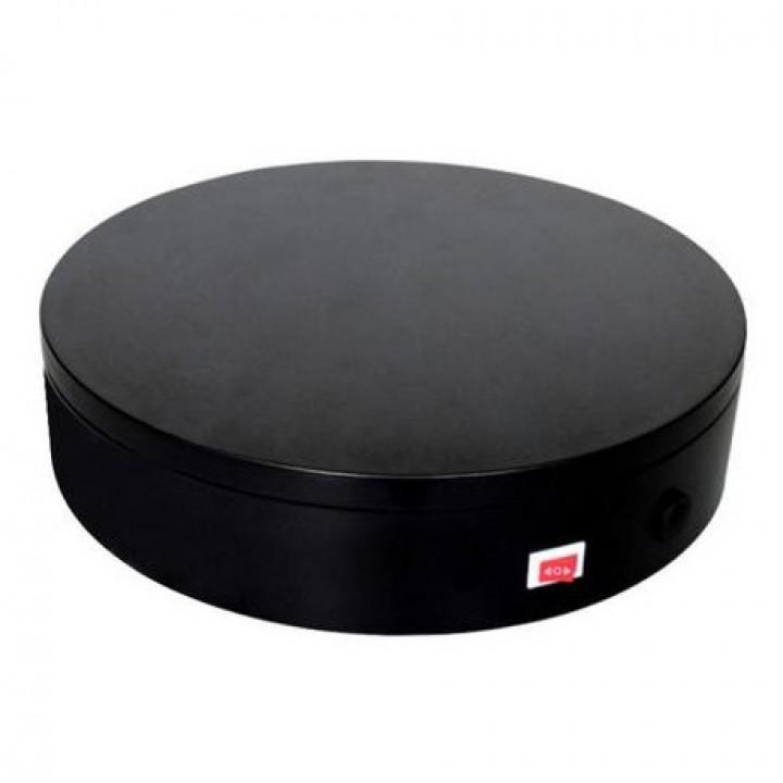 Предметный стол поворотный 32см пульт черный Puluz DCA0940B