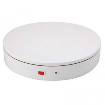 Предметний стіл поворотний 30см пульт білий Puluz DCA0939W