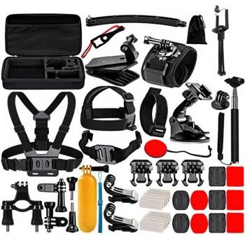 Набор креплений для экшн-камеры 50в1 Puluz PKT39