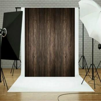 Фотофон тканевый коричневый дерево 210x150см Puluz TBD047724701A