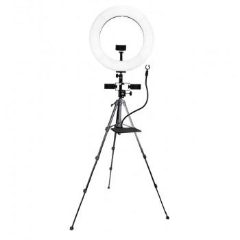 Селфі лампа для прямих трансляцій на штативі Beike QZSD Q7 set 3