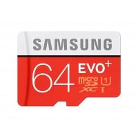 Карта памяти SAMSUNG MICROSDXC 64GB Evo Plus