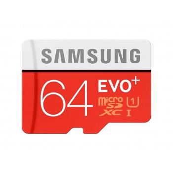Карта пам'яті SAMSUNG MICROSDXC 64GB Evo Plus