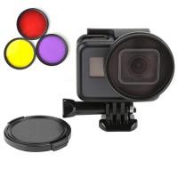 Набор фильтров с рамкой для GoPro Hero 5 / 6 / 7