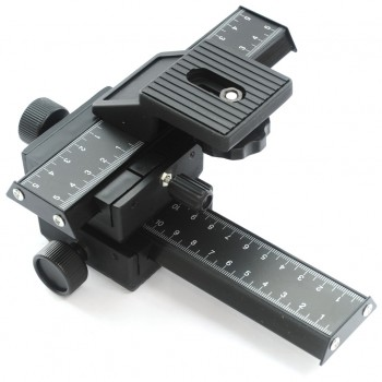 Макрофокусний рейковий штатив для фото/відео камер