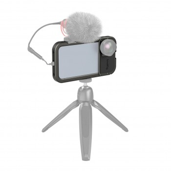 Клетка iPhone 12 с крепление для объектива SmallRig 3074