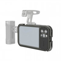 Клітка iPhone 12 Pro Max з кріплення для об'єктива SmallRig 3077
