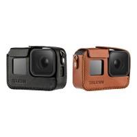 Кожаный чехол Telesin для GoPro 8 Black (GP-PRC-L08)