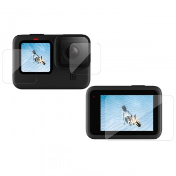 Стекло защитное для GoPro 9 Telesin GP-FLM-901