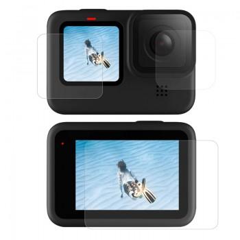 Пленка защитная для GoPro 9 Telesin GP-FLM-902