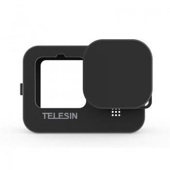 Чохол силіконовий GoPro 9 чорний Telesin GP-HER-043 (GP-PTC-901)