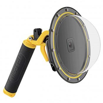 Підводний бокс купол GoPro 9 з курком Dome Port 30м Telesin GP-DMP-T09