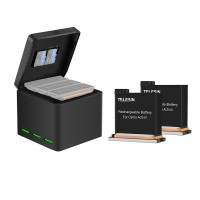 Зарядное устройство + 2 аккумулятора OSMO Action Telesin OS-BNC-001