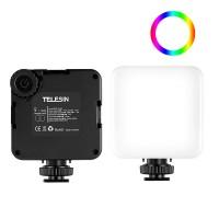 Накамерный свет диммируемый RGB Telesin TE-LGT-001