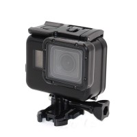 Аквабокс GoPro 7 6 5 Black чорний Telesin GP-WTP-503