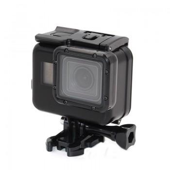 Аквабокс GoPro 7 6 5 Black черный Telesin GP-WTP-503