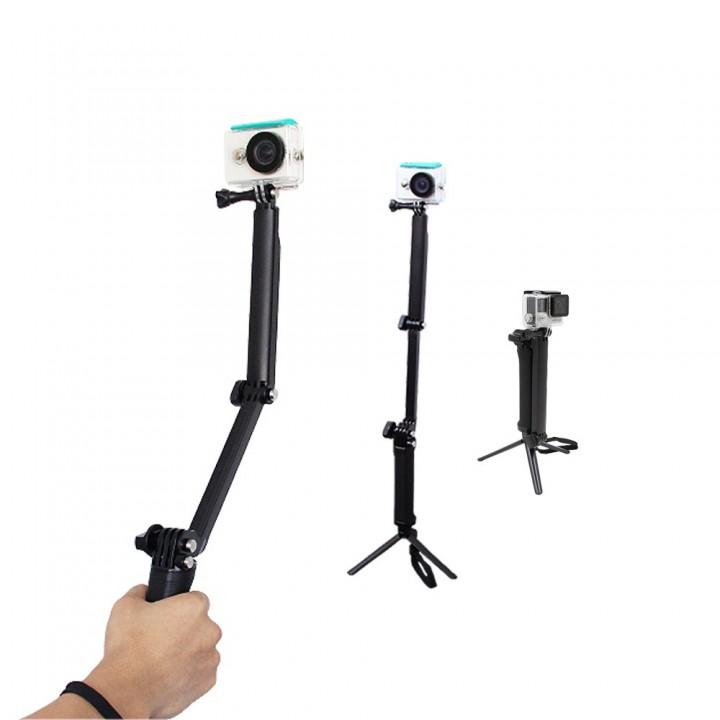 3way 3в1 монопод Telesin для экшн-камер GOPRO SJCAM XIAOMI SONY