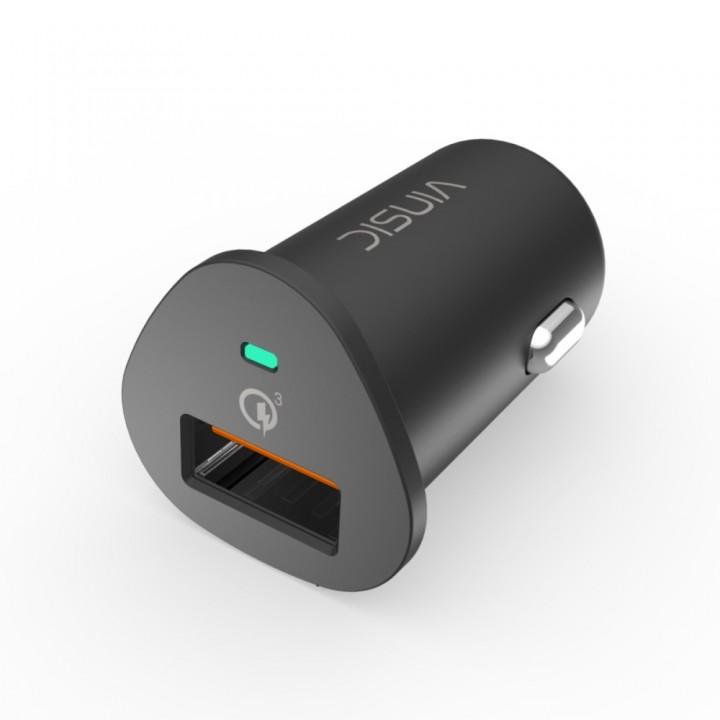 Адаптер зарядки QC3.0 в прикуриватель VINSIC VSCC106