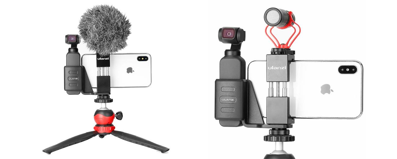фото тримача для OSMO Pocket і телефону Ulanzi OP-1
