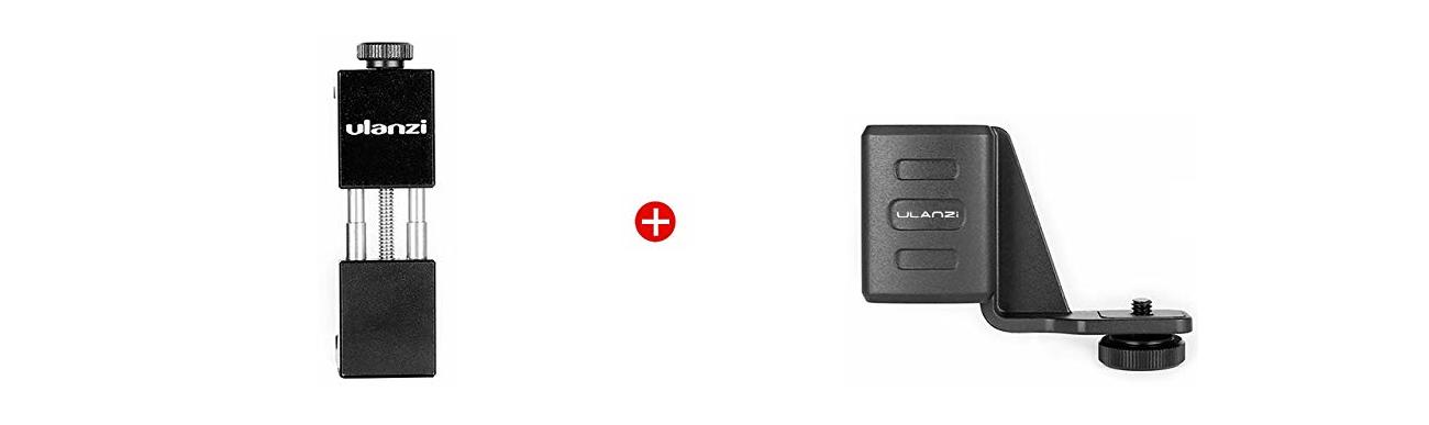 фото комплектації тримача для OSMO Pocket і телефону Ulanzi OP-1