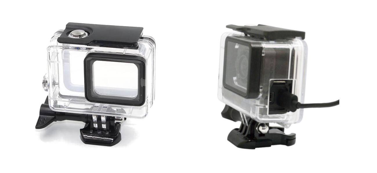 фото водонепроницаемого бокса GoPro 7 с прорезью